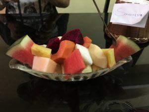 ラオス フルーツサラダ